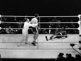Henry Cooper vs Cassuis Clay Boxing at Wembley Stadium