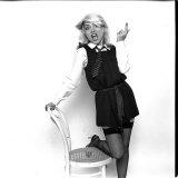 Debbie Harry Blondie Singer Dressed as Schoolgirl 1978