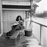 Jimmy Page of Band Led Zeppelin  January 1970