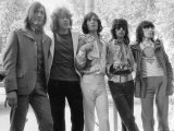 The Rolling Stones Pop Group 1969 Mick Jagger and Keith Richards in Hyde Park