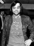George Best Footballer Leaves Heathrow Airport For Los Angeles to Play For American Team Aztecs