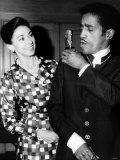 Sammy Davis Jr with Dame Margot Fontayn