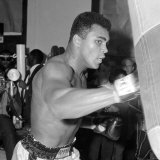 Muhammad Ali Training at BBC Gym in Preparation For His Fight Against Brian London
