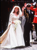 Queen Elizabeth II's Son  Prince Andrew  Marries Sarah Ferguson at Westminister Abbey in London