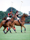 Prince Charles Playing Polo at Smiths Lawn  Windsor May 1987