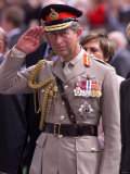 Prince Charles Takes Salute and Meets Veterans of Dunkirk