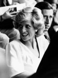 Princess Diana and Prince Charles at Live Aid Concert 1985 Wembley Stadium