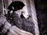 Princess Diana Turns on the Christmas Lights on Regent Street