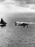 """""""Puss"""" Moth Flown by JA Mollison over the Atlantic on Its Record-Making Flight from Ireland to NY"""