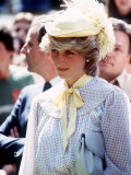 Princess Diana in Canada on Prince Edward Island June 1983