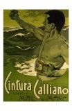Cintura Calliano Contro Il Mare, c.1898 Reproduction d'art par Adolfo Hohenstein
