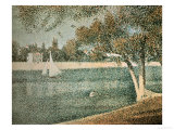 The Seine Near Grande Jatte