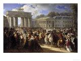 Napoleon's Entry Into Berlin