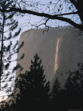 Yosemite National Park's Bridalveil Falls in Muted Light