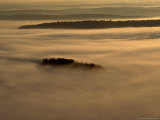 Low Lying Fog Over Merrymeeting Bay at Sunrise