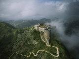 Aerial View of La Citadelle Laferriere in Haiti