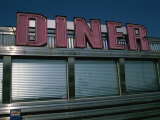 Classic Diner Sign To Pull in Hungry Patrons
