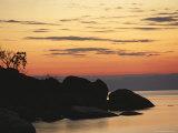 Lake Malawi at Sunset