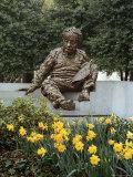 Bronze Statue of Albert Einstein