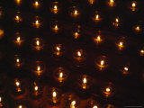 Votive Candles Send the Prayers of the Faithful Towards Heaven