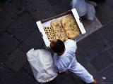 Delivering Foccacia in Venice