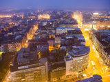Central Belgrade at Dusk