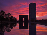 Gate of Time and Reflecting Pool  Oklahoma City National Memorial