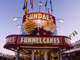 Sundaes and Funnel Cakes Stand at the New Mexico State Fair