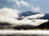 Kluane Mountains Framed by Drifting Cloud