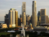Modern Singapore Skyline