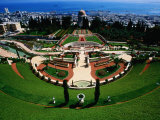 Bahai Shrine and Garden on Mount Carmel