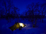 Camping in Minus 40 Degrees Celsius