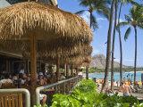 Dukes Canoe Club on the Beach at Waikiki in the Outrigger Waikiki Hotel