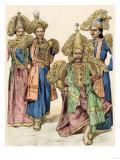 Men of Jaffna  Ceylon in their Finest Clothing