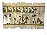 Fragment of the Egyptian Book of the Dead