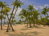 Siliso Beach on Sentosa Island