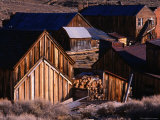 Cluster of Buildings  Ghost Town of Bodie  Eastern Sierra Nevada