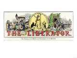 The Liberator : Masthead of William Lloyd Garrison's Abolitionist Newspaper