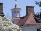 Rooftops of Mount Vernon  George Washington's Home in Virginia