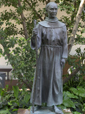 Statue of Father Junipero Serra  Spanish Franciscan Missionary  San Diego Mission