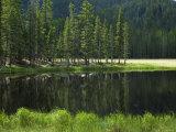 Glacial Lake in the Pecos Wilderness  Sangre De Cristo Mountains  New Mexico