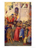 Orsini Polyptych: Road to Calvary