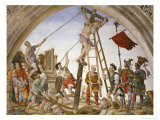 Scenes from the Life of Saint Philip: Crucifixion of the Saint