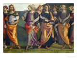 Lunette with Sibyls and Prophets