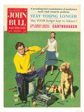 John Bull  Lawnmowers Magazine  UK  1950