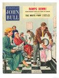 John Bull  Launderettes Washing Machines Appliances Magazine  UK  1954