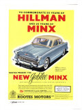 Hillman  Jubilee Edition Hillman Minx Cars  UK  1950