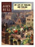 John Bull  Roof Gardens Magazine  UK  1950