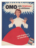 Omo  Washing Powder Detergent  UK  1950