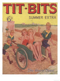 Tit-bits  Boy Scouts Holiday Beaches Magazine  UK  1930
